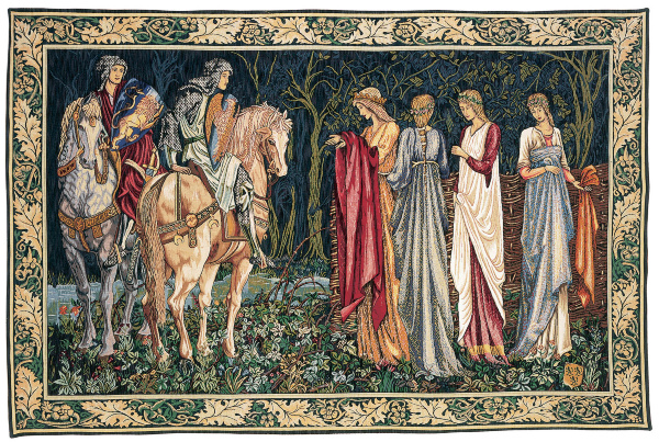 1058.10, .20 & .30 Le depart des chevaliers(William Morris) (180x280)