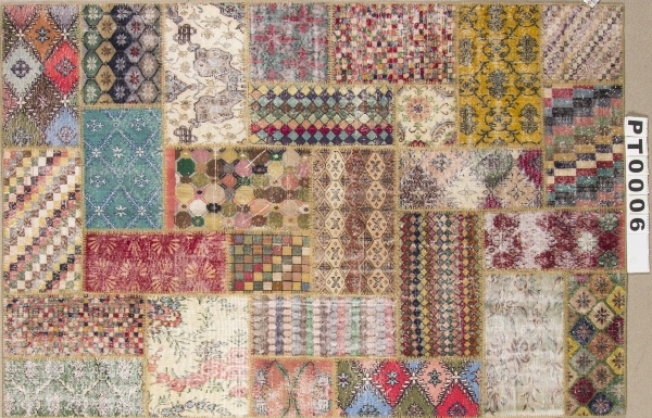 Ковер ART DECO PATCHWORK 300x200 20075